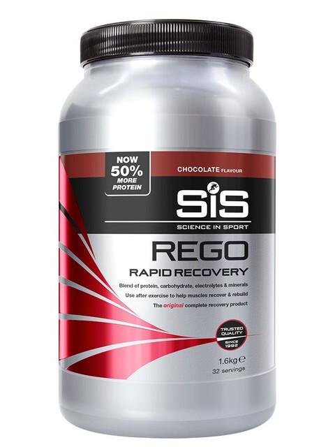 SiS Rego Rapid Sportvoeding met basisprijs Schokolade 1,6kg grijs